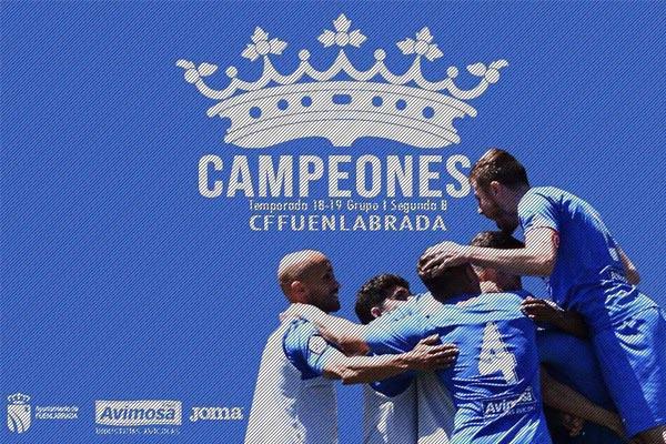 Juntos por un sueño, somos campeones del grupo I de Segunda b
