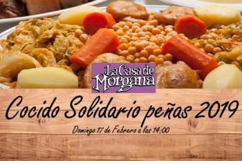 Todos los aficionados de la AD Alcorcón podrán disfrutar de un delicioso cocido solidario