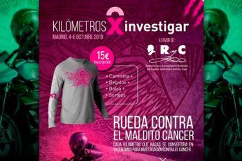 Llega 'Kilómetros X Investigar', el evento motero para luchar contra el cáncer de mama