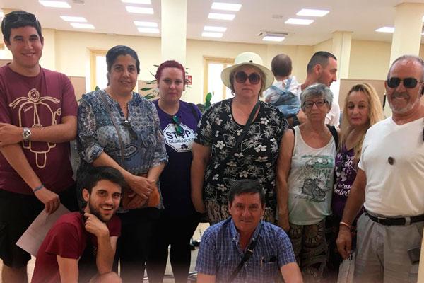 Tras la notificación de la puesta a disposición municipal del local de la avenida de la Virgen del Val que compartimos 10 colectivos