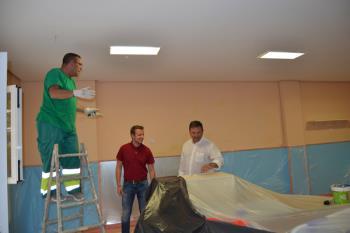 Se llevarán a cabo tareas de albañilería, fontanería y pintura antes del comienzo del curso escolar