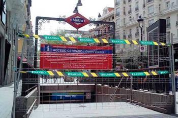 Los trenes no efectuarán parada desde el próximo lunes. Además, del 22 al 29 de agosto, se cerrará el tramo Tribunal-Sol Línea 1