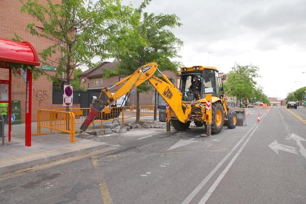 Comienza la remodelación de las calles Isaac Albéniz y Lugo