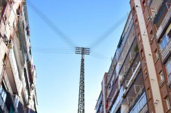 La construcción de la torre se remonta a finales de los años sesenta
