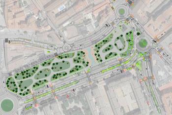4 nuevas rotondas, reestructuración del parque de la Plaza Santa Ana y nuevas plazas de aparcamiento son las obras a realizar