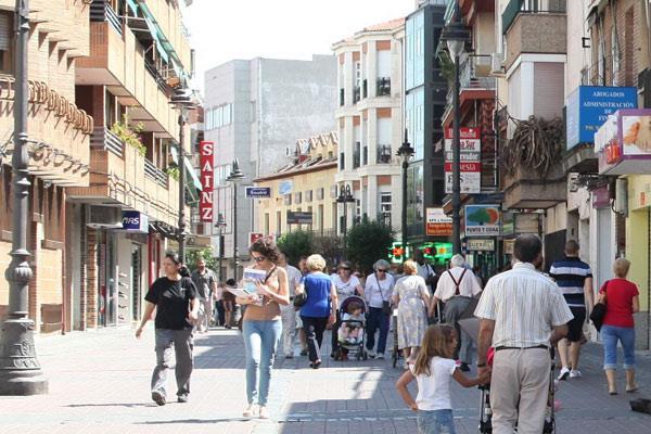 Comienzan las obras en la calle Madrid