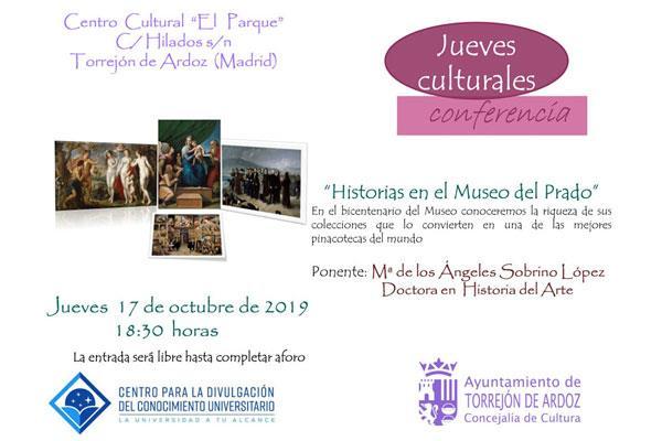 Comienzan los 'Jueves Culturales' de Torrejón