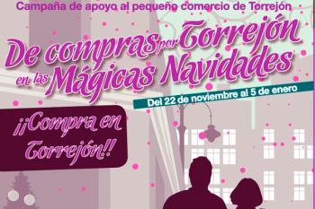 'De compras por Torrejón en las Mágicas Navidades' sortea gasta 5.800 euros en premios por compras superiores a 20 euros