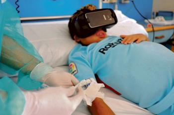 El Hospital La Paz ha puesto en marcha el proyecto Virtual Transplant Reality para mejorar la atención psicológica de los niños trasplantados