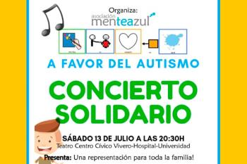La asociación MenTEAzul compuesta por mamás y papás de niños con TEA nos invita a su fantástico concierto