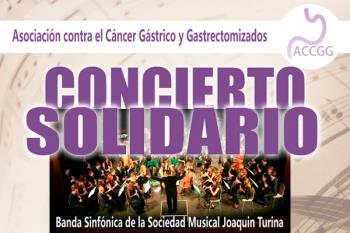 La Asociación contra el cáncer gástrico y gastrectomizados organiza este fantástico concierto en el Conservatorio Rodolfo Halffter
