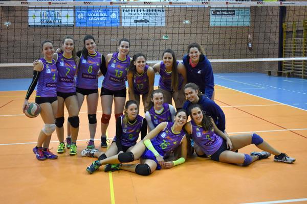 El futuro del voley femenino vive en Leganés