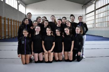 Conocemos al club de Gimnasia Rítmica de Villaviciosa de Odón, que cuenta, en la actualidad, con más de 120 gimnastas en sus filas