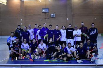 Nos colamos en un entrenamiento de nuestro club Floorball Leganés