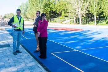 La nueva zona deportiva y de ocio contará con tres zonas para practicar diferentes actividades