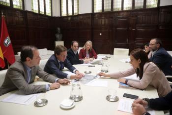 La alcaldesa de Getafe ha recordado la necesidad de que Madrid retire los escombros de El Ventorro