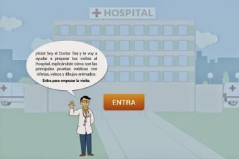 Doctor TEA es una web que ayuda a los pacientes con autismo a enfrentarse a una prueba médica