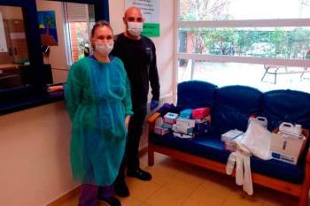 El Ayuntamiento de Torrejón ha distribuido el material de los centros educativos a tenor de las nuevas necesidades
