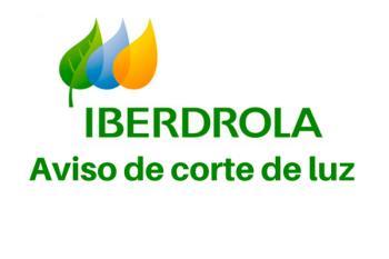 Iberdrola comunica un corte de luz programado para el viernes