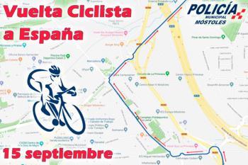 Con motivo de las Fiestas de Septiembre y de La Vuelta Ciclista, la Policía Local nos comunica su dispositivo de tráfico