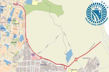 La celebración del Gran Premio El Bicho Bicicletas provocará cortes desde las 11 hasta las 17 horas