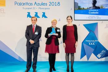 El premio supone un reconocimiento a la óptima gestión de recogida de papel y cartón en el municipio