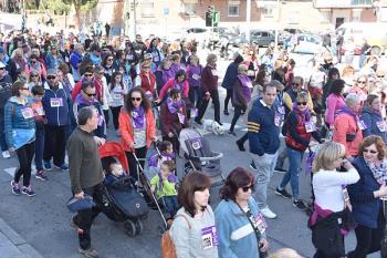 Más de mil personas han participado en la XXVIII Marcha por la Igualdad