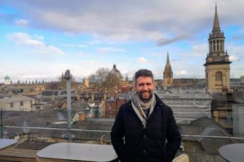 Juan César Palomino, natural cosladeño, nos cuenta su experiencia como investigador en la Universidad de Oxford