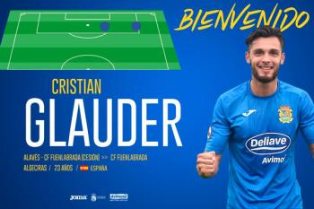 Glauder llegó a un acuerdo con el club para seguir vistiendo la camiseta azulina