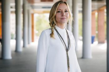 """La portavoz municipal, Diana Fuertes, critica """"el gran retraso que acumulan las obras"""" de Cercanías"""