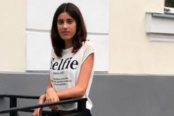Lorena Ramos, vecina de Villaviciosa, ha obtenido una beca de Excelencia para estudiar Diseño y Publicidad en la Universidad Francisco de Vitoria