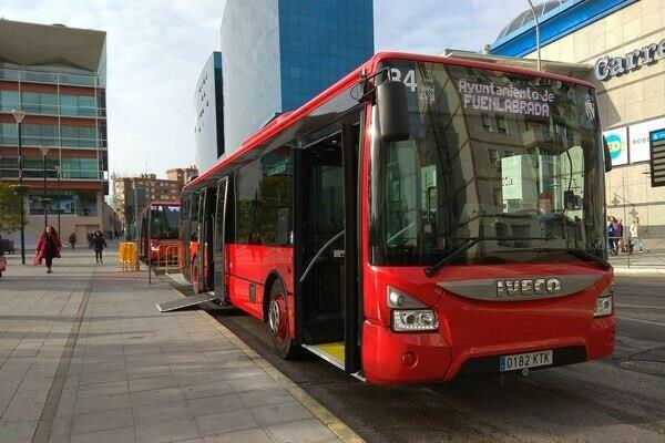 Cuatro autobuses se incorporan a la flota de Fuenlabrada