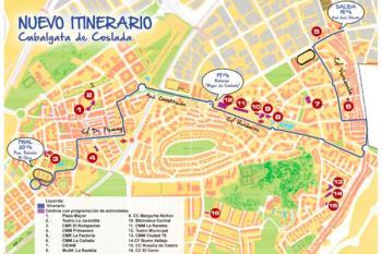 El itinerario de los Reyes Magos comenzará el próximo día 5 de enero en el Barrio de la Estación