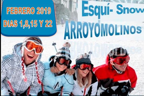 Cursos a precio especial en SnowZone Xanadú, sólo para Arroyomolinos