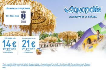 Los días 27 y 28 de junio la entrada te costará 14 euros