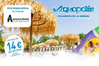 Este fin de semana los alcalaínos tendremos descuentos especiales en Aquópolis
