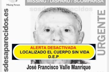 Ayuda para encontrar a José Francisco Valle Manrique, tiene alzheimer y desapareció el pasado miércoles