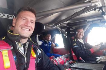 Junto a su compañero Francisco del Pozo, han logrado acabar la prueba celebrada en Teruel