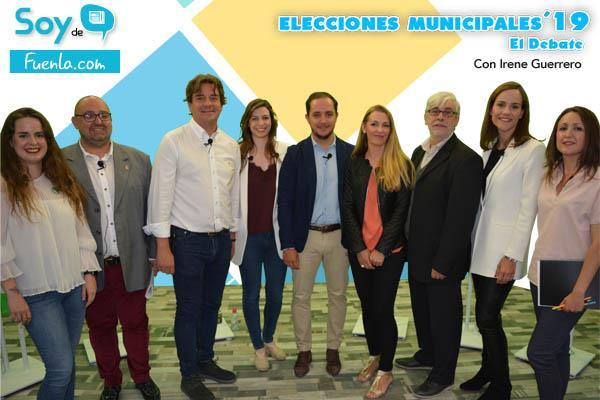 Los candidatos de Fuenlabrada debaten en Soyde. antes del 26M