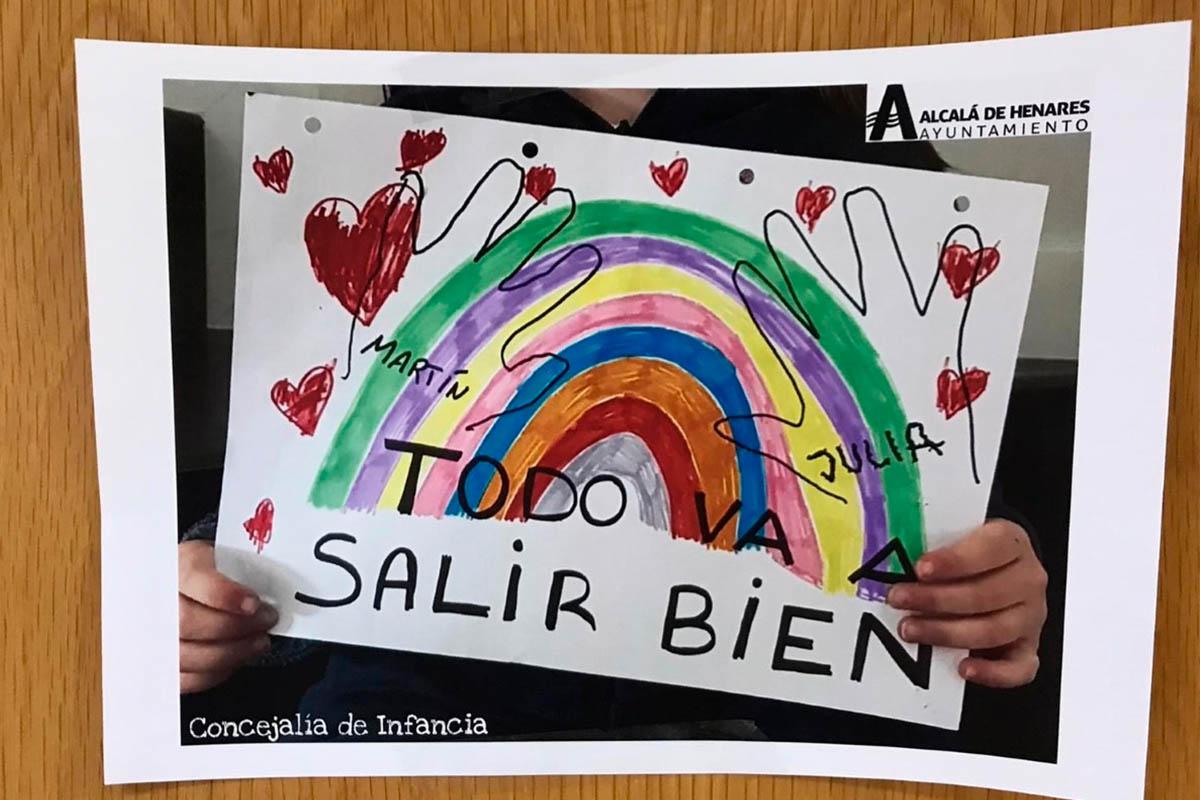 Los pasillos y las habitaciones estarán repletas de color y esperanza gracias a los niños y niñas de Alcalá de Henares