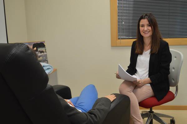 Ana Suárez De La Fuente. Psicóloga de la Clínica Universitaria de la URJC