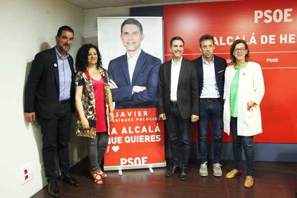La agrupación de Alcalá de Henares ha presentado los principales ejes de su candidatura para las elecciones
