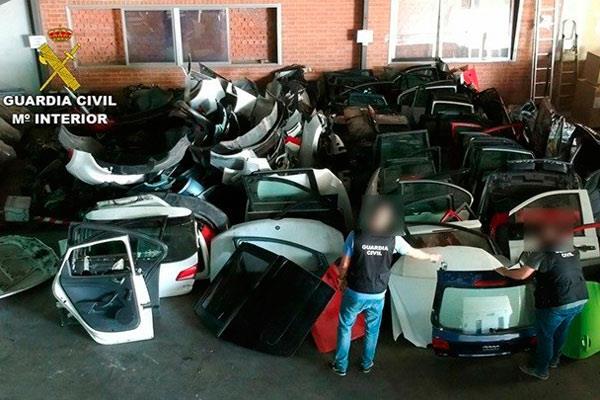 Al grupo se le imputan un total de 17 robos de automóviles por el momento