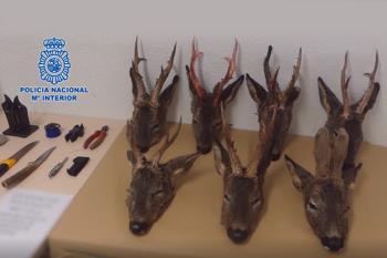 Detenidos dos cazadores furtivos en Torrejón de Ardoz