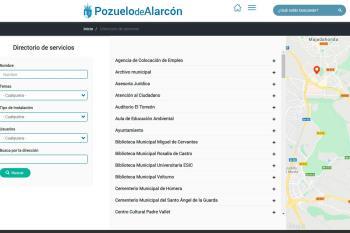 Permite a los usuarios geolocalizar instalaciones municipales, centros de salud, juzgados o registros, entre otros