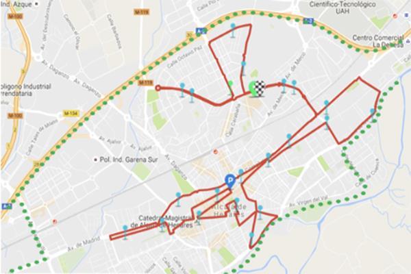 Dispositivo especial de tráfico para la Maratón Internacional de Alcalá del próximo domingo