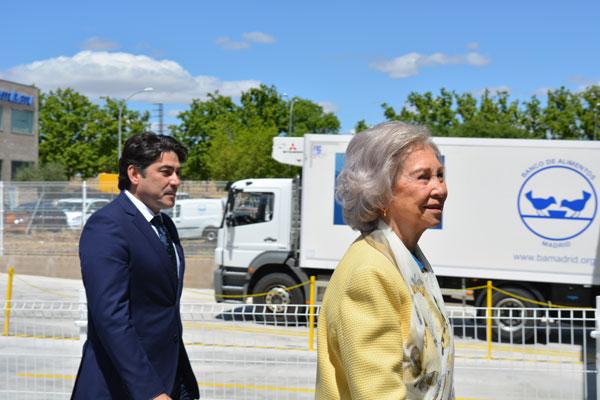 El Banco de Alimentos inaugura una sede de la mano de la reina emérita, Doña Sofía