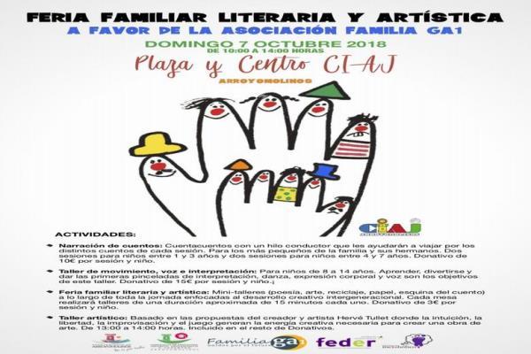 Arroyomolinos se solidariza  el día 7 de Octubre  con los enfermos de Aciduria Glutárica