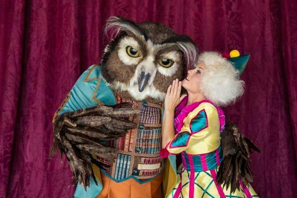 Don Búho recibirá la visita de acróbatas, adivinas, criaturas voladoras y muchos viajeros más