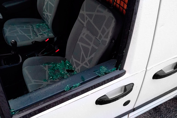 Los acusados robaban maquinaria guardada en furgonetas de Leganés y Fuenlabrada